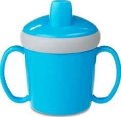 Rosti Mepal Anti-spill training mug - Blue `One size Composition: silicone Color : blue Age: from 12 months Dimensions: 8,1 x 12,1 x 11,2 cm Machine washable Do not use micro-wave Complies with EN 14350-1 norm Requires adult supervision http://www.comparestoreprices.co.uk/january-2017-7/rosti-mepal-anti-spill-training-mug--blue-one-size.asp