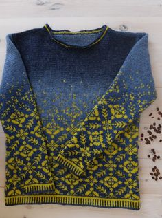 the web site is in French, would love to find this pattern in English! It's a Drops Design free pattern Baby Knitting Patterns, Knitting Designs, Knitting Stitches, Knitting Yarn, Hand Knitting, Stitch Patterns, Crochet Patterns, Tejido Fair Isle, Punto Fair Isle