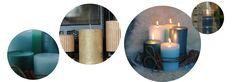 metallinhohtoiset kynttilät