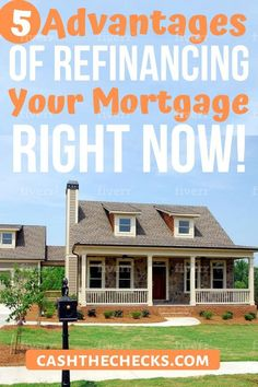 5 advantages and tips for refinancing your mortgage right now. Do you want to refinance your home? Get the tips on refinancing your home today!
