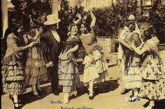 feria de abril del año 1847, en Sevilla Pier Paolo Pasolini, Sevilla Spain, Folklore, Places, Classic, Painting, Flamingo, Antique Photos, Cities