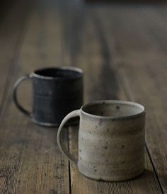 I'd love drinking from these each morning! Such simple, organic beauty and function. Love it.