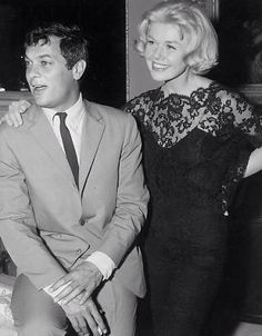 Doris Day and Tony Curtis