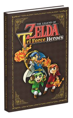 The Legend of Zelda: Tri Force Heroes Collector's Edition Guide: Prima Games: 9780744016697: Amazon.com: Books