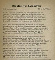 Die Stem van Suid Afrika - Old South African National Anthom. Union Of South Africa, Afrikaanse Quotes, Pretoria, My Land, African History, Poems, Van, Childhood Memories, African Recipes