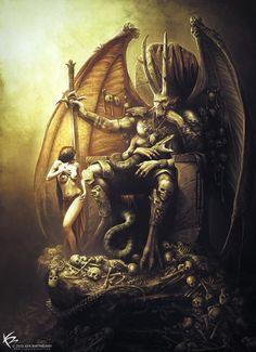 monsterman:Demon Lord by KEN BARTHELMEY
