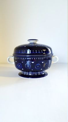 Arabia of Finland Valencia Casserole Covered Soup by fcollectables
