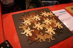 Very cool wooden puzzle