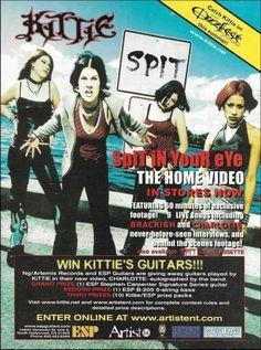 Vampires, Esp Guitars, Guitar Magazine, Riot Grrrl, Nu Metal, Punk Rave, Emo Scene, Band Posters, Movie Posters