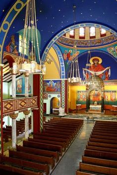 Sacred Places in the Alleghenies (Johnstown, PA): St. Mary's Byzantine Catholic Church