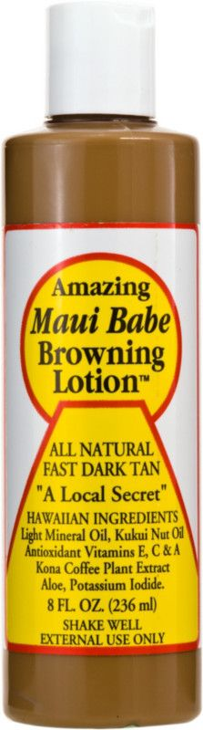 Maui BabeBrowning Lotion