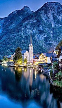 Hallstatt, Austria,