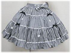 Other Amusements: Weekend designer - lolita skirt patterns, Baby Girl Christmas Dresses, Little Girl Dresses, Girls Dresses, Sewing Kids Clothes, Daddys Little Girls, Cute Outfits For Kids, Lolita Dress, Gothic Lolita, Kids Wear