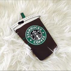 Starbucks frappucino iphone 6 plus case Rubber, pre loved but in excellent condition. Marked high for price drop purpose. Accessories Phone Cases