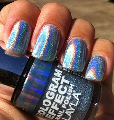 Layla Hologram Effect - Mermaid Spell