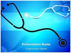 Medical Stethoscope Background PowerPoint Presentation Template is one of the…