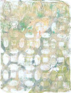 """Tan Pewter Lattice"" original acrylic monoprint by Sharon Giles Pewter, The Originals, Prints, Painting, Art, Tin, Art Background, Painting Art, Kunst"