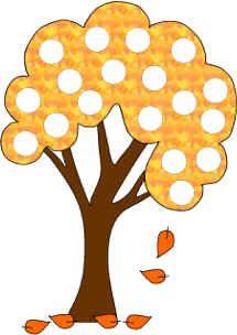 """Bingo Dauber Dot Art"" You can decorate with bingo daubers, pom poms, circle stickers, etc. Autumn Activities, Preschool Activities, Pom Poms, Do A Dot, Fall Preschool, Art Pages, Autumn Theme, Printable Art, Free Printables"