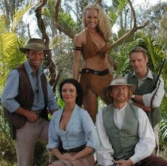 "Sir Arthur Conan Doyle's The Lost World (1999-2002), Lord John R. Roxton, Veronica Layton, Edward ""Ned"" T. Malone, Prof. George E. Challenger, Marguerite Krux"