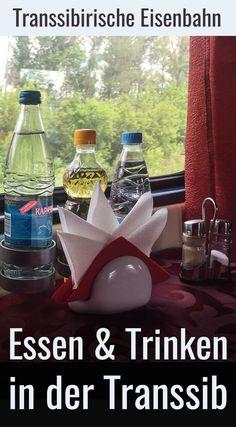 Transsibirische Eisenbahn: Essen und Trinken auf Bahnreisen durch Russland ist ein besonderes Erlebnis. Erfahrungen, Reisetipps und ein Reisebericht im Blog - jetzt reinklicken! #zugreise #abenteuer #transsibirien Trip Planning, Russia, Around The Worlds, Europe, Train, How To Plan, Blog, Lake Baikal, Trans Siberian Railway