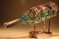Bellevino. Cold glass sculpture by Jack Storms. Intro video - https://www.youtube.com/watch?v=PeMGRMwarKI
