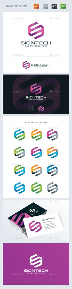 S Letter  Technology Logo Template — Transparent PNG #twist #consulting • Available here → https://graphicriver.net/item/s-letter-technology-logo-template/13746260?ref=pxcr