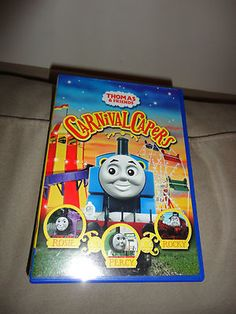 Thomas The Tank Engine Thomas & Friends Carnival Capers DVD Movie find me at www.dandeepop.com