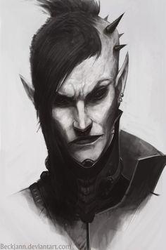 Dark Eldar: Wych 3 by Beckjann on DeviantArt