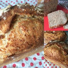 Pre-soaking the grains in this bread makes for a moist crumb and a lovely crust #bread Hungry?