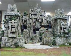 Image result for styrofoam lizardmen pyramid Terrain 40k, Warhammer Terrain, Game Terrain, Wargaming Terrain, Painting Station, Dungeon Tiles, Warhammer Fantasy, Warhammer Aos, Mayan Ruins