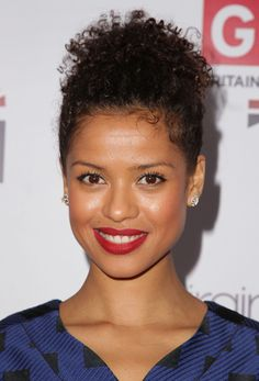 Gugu Mbatha-Raw Photos Photos - Gugu Mbatha-Raw attends the after party for the premiere of 'Belle' where Prince made a surprise performance at Hippodrome Casino on June 2014 in Leicester, England. Curly To Straight Hair, Straight Hairstyles, Beauty Tips For Hair, Hair Beauty, Mbatha Raw, Curly Hair Styles, Natural Hair Styles, Raw Photo, Beautiful Black Women