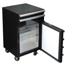 Toolbox 50 Litre Mini Bar Fridge, Holds 38 Cans Tool Drawers, Door Bar, Mobile Price, Wine Refrigerator, Tool Box, Glass Door, Man Cave, Mini, Commercial