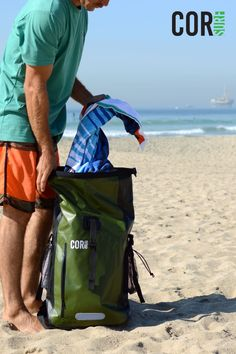 Who else is feeling those summer vibes?!? Get your surf boards ready and head to the sand with our waterproof backpacks. Store your valuables and protect your gear from getting wet while you are out adventuring. Surf Accessories, Outdoor Gadgets, Surf Boards, Waterproof Backpack, Canoe And Kayak, Cool Gear, Wakeboarding, Getting Wet, Colors