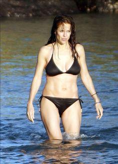 Kelly Preston Kelly Preston, Bikinis, Swimwear, Fashion, Bathing Suits, Moda, Swimsuits, Fashion Styles, Bikini