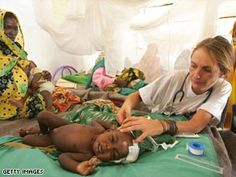 Doctors without borders aid workers.