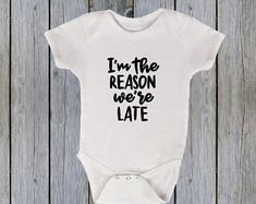Funny baby bodysuit | Etsy Cute Bodysuits, Funny Babies, Baby Bodysuit, Kids, Etsy, Clothes, Young Children, Outfits, Boys
