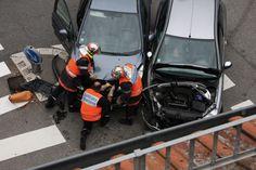 accident de la route sapeur pompier intervention images gratuites
