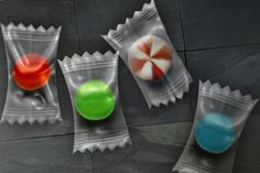 Photoshop Tutorial: Candy in a Plastic Wrapper ... http://larissameek.com/2008/01/11/candy-wrapper-photoshop-tutorial/