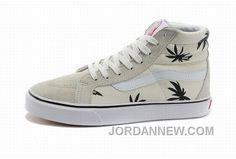 http://www.jordannew.com/vans-sk8hi-leafs-beige-mens-shoes-lastest.html VANS SK8-HI LEAFS BEIGE MENS SHOES LASTEST Only $74.81 , Free Shipping!