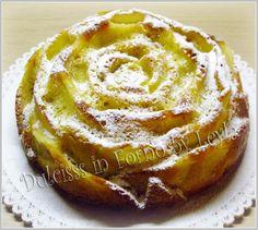 Torta di mele yogurt e mandorle, ricetta dolce