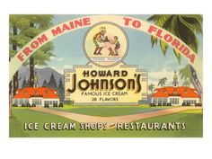 Howard Johnson's Ice Cream Shops and Restaurants