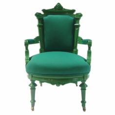 green throne by flossie