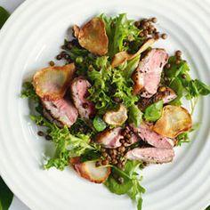 Duck and Lentil Salad