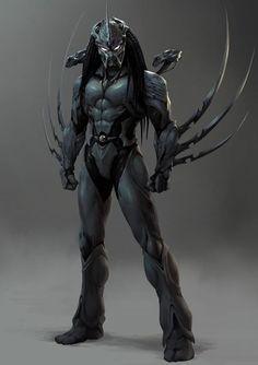 Apex Predator, Alien Vs Predator, Predator Figure, Arte Alien, Alien Art, Alien Concept Art, Armor Concept, Alien Character, Character Art