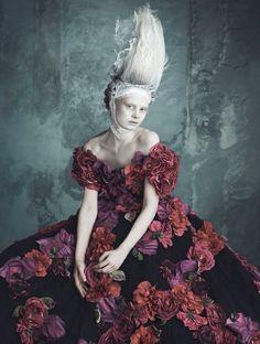 Vogue Germany April 2014 | Dolce & Gabbana Haute Couture by Luigi+Iango