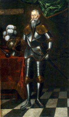 """Jerzy Radziwiłł """"Herkules"""" herbu Trąby (ur. 1480, zm. 1541) – hetman wielki litewski w latach 1531-1541, marszałek nadworny litewski od 1528, hetman nadworny litewski od 1521, kasztelan wileński od 1527, kasztelan trocki od 1522, starosta grodzieński od 1514, wojewoda kijowski w latach 1511-1514, podczaszy wielki litewski od 1509."""