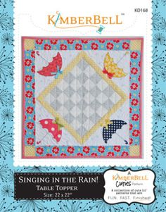 """""""Singing in the Rain!"""" Table Topper 