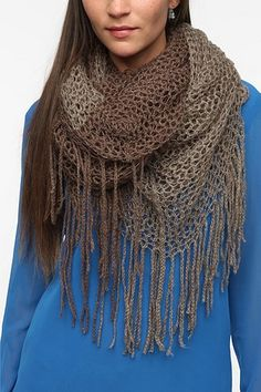 Cooperative Two-way Scarf - Grey