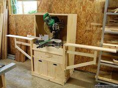 Ah! E se falando em madeira...: Estação para serra meia esquadria