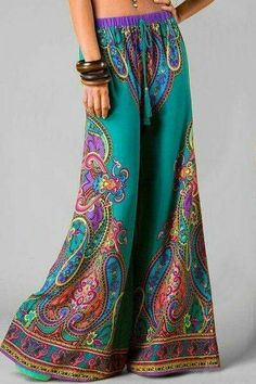 Colorfull long pant